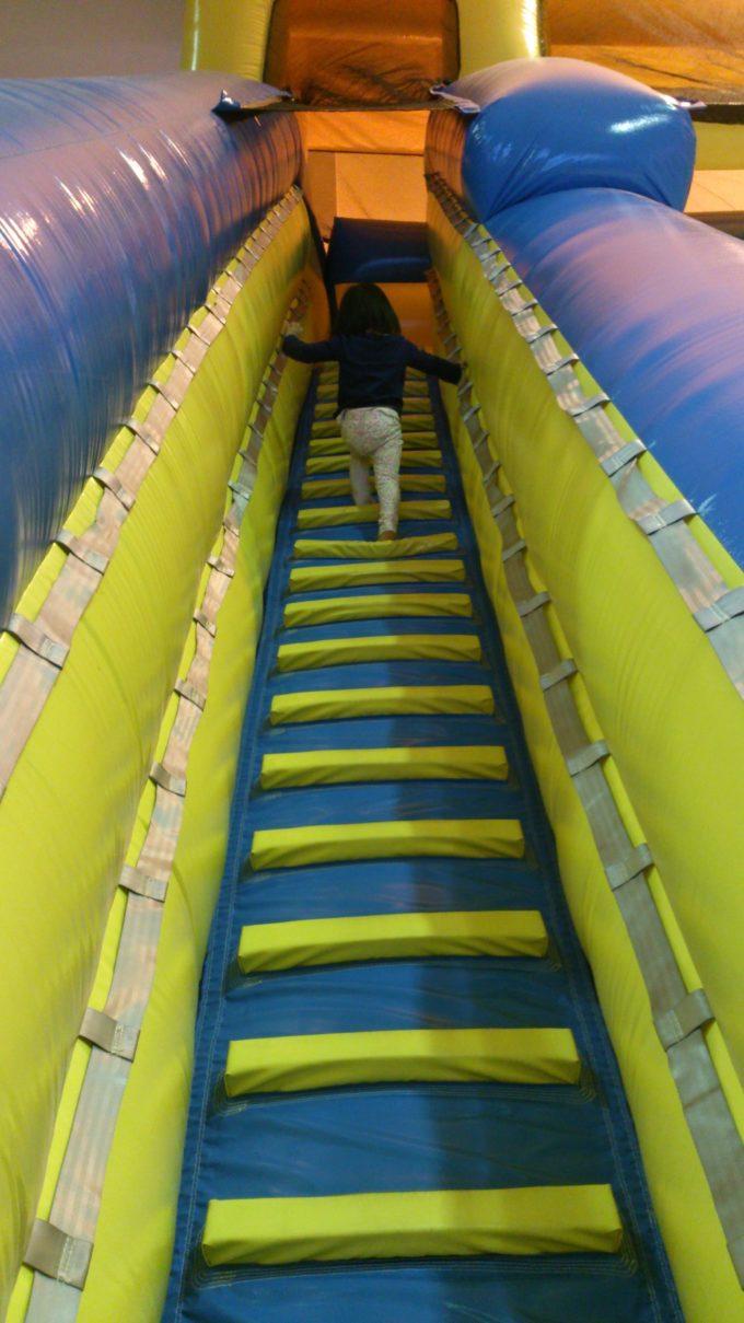 スライダーの階段