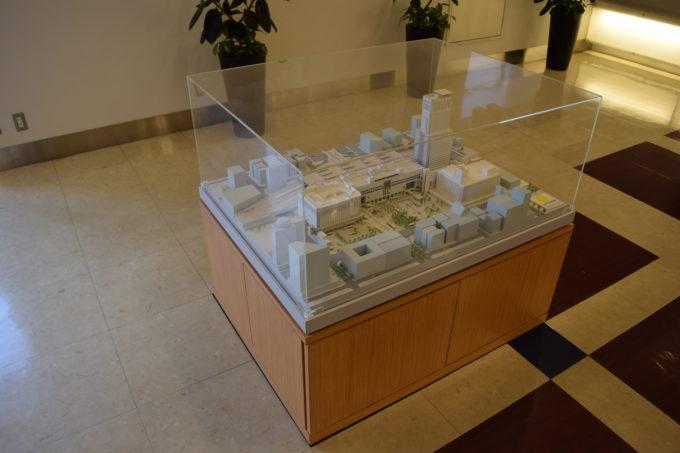 JRタワーの模型