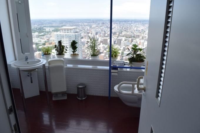 多目的用眺望トイレ
