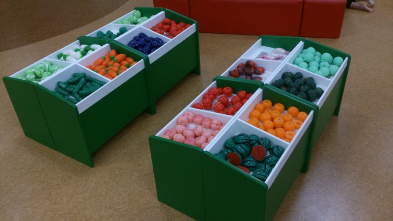 野菜や果物が沢山
