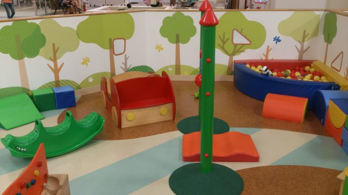 小さい子供用スペース