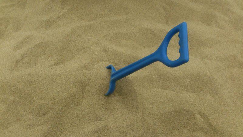 サラサラした砂