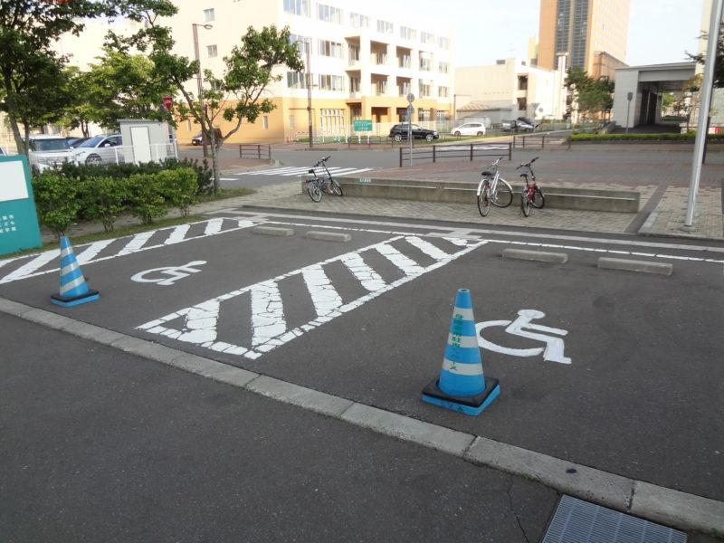 バリアフリー駐車場