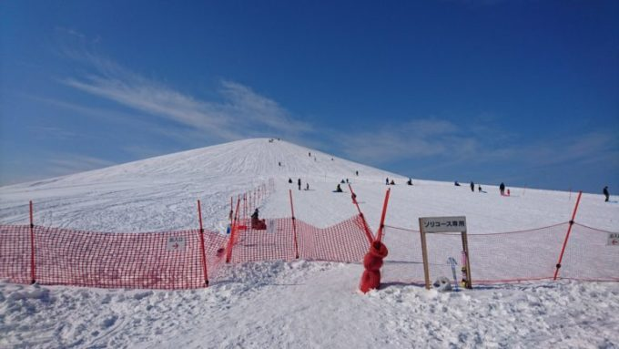 モエレ山(ソリ遊びエリア)