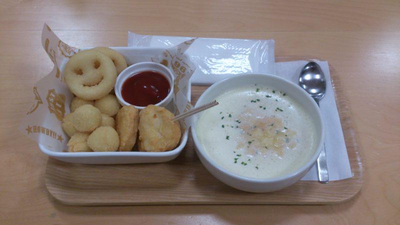 ポテトとスープ