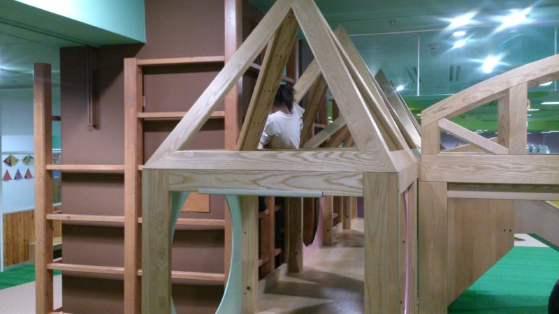 2階建て構造