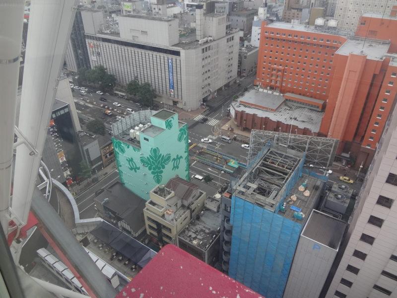 札幌の変わりゆく景色もゴンドラから一望