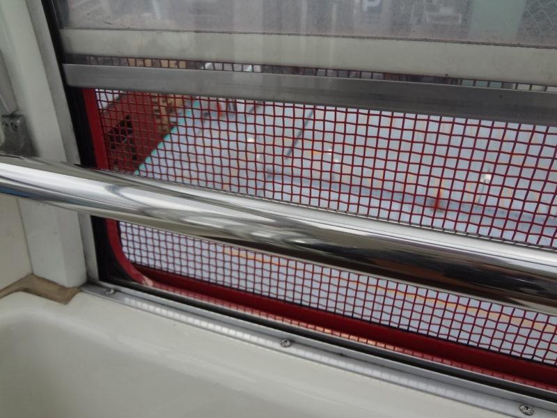 観覧車の窓