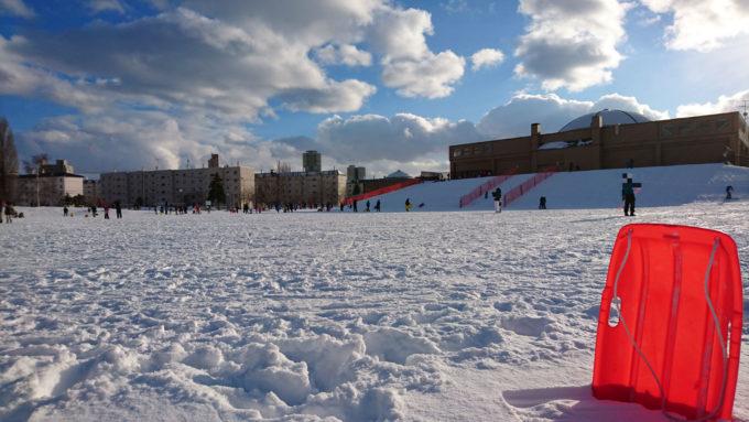 冬の農試公園