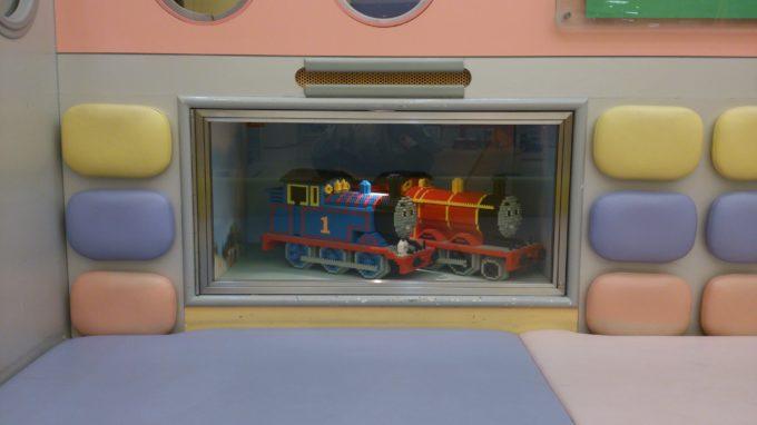 機関車トーマスのディスプレイ