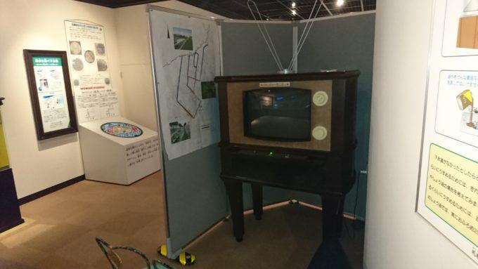 レトロ風テレビのアメニティーモニター