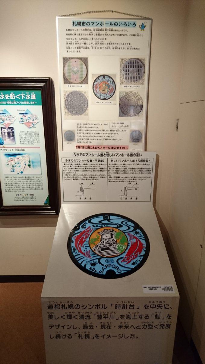 札幌市のマンホールのいろいろ