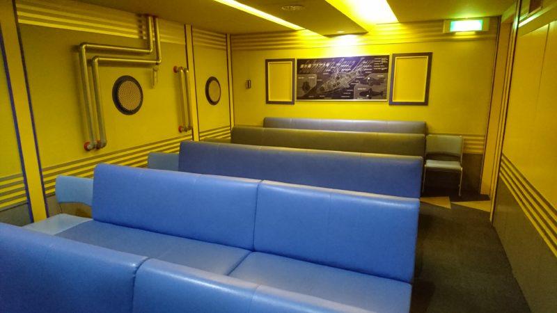 潜水艦プクプク号の内部
