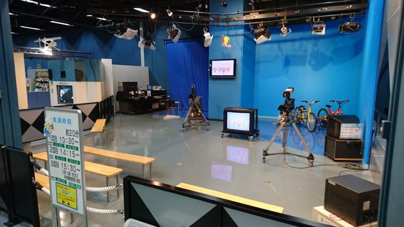 テレビスタジオ