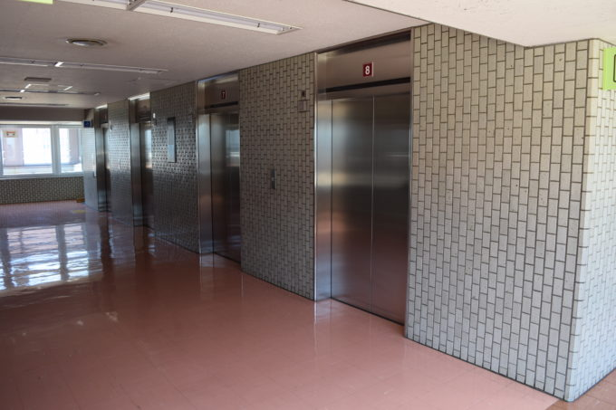 19階展望回廊フロア