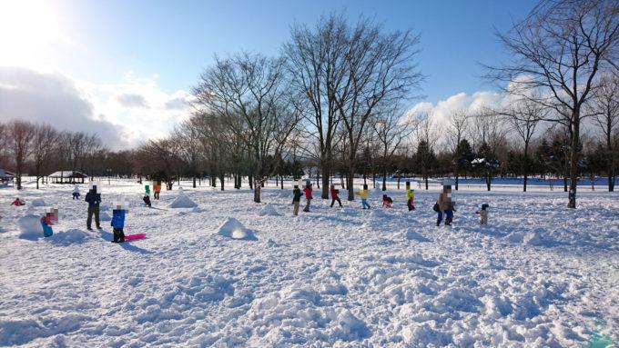 雪だるま広場