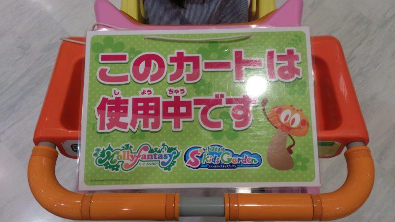 イオン店内のショッピングカート