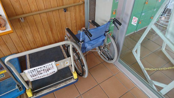 車椅子の貸出