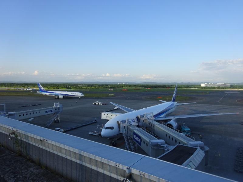 ANAの駐機場