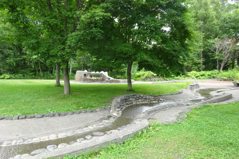 エコロジーパーク水と霧の遊び場
