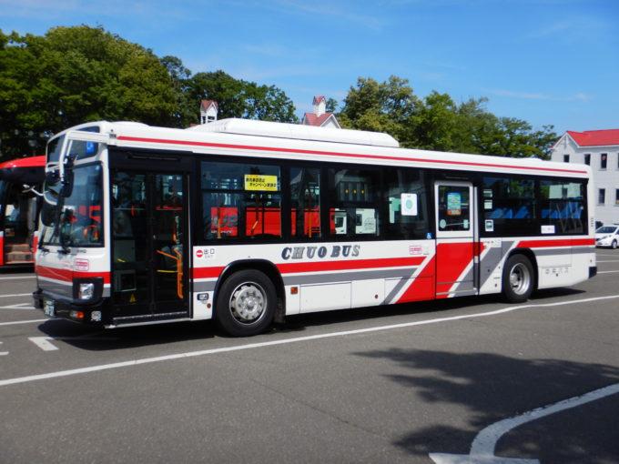 中央バスの車体