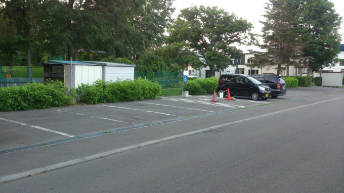新琴似二番通公園無料駐車場