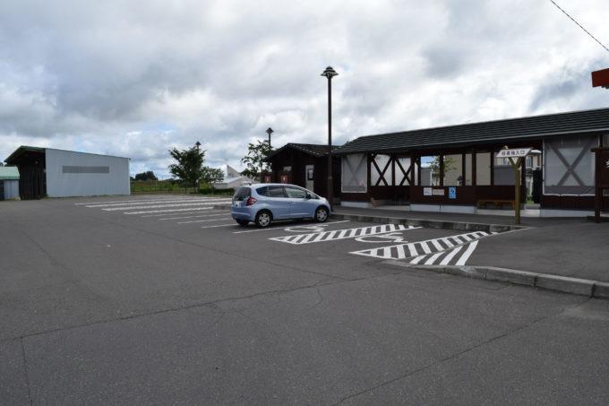 無料の駐車場