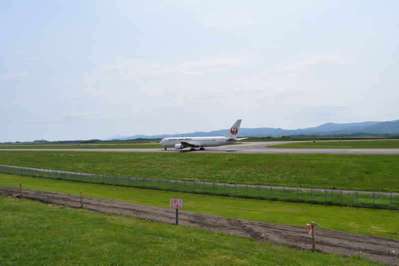 JAL機離陸準備完了