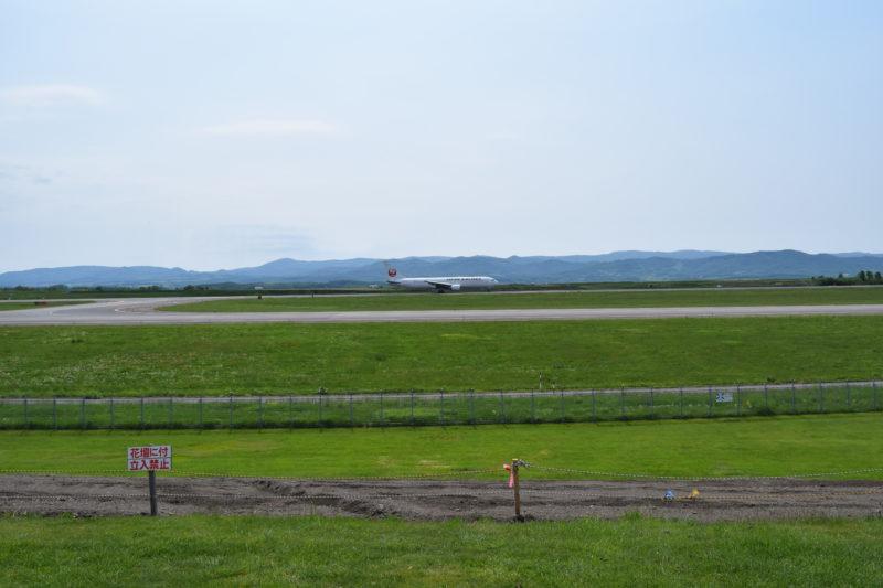 JAL機離陸