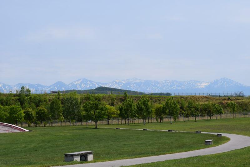 大雪山系の山々
