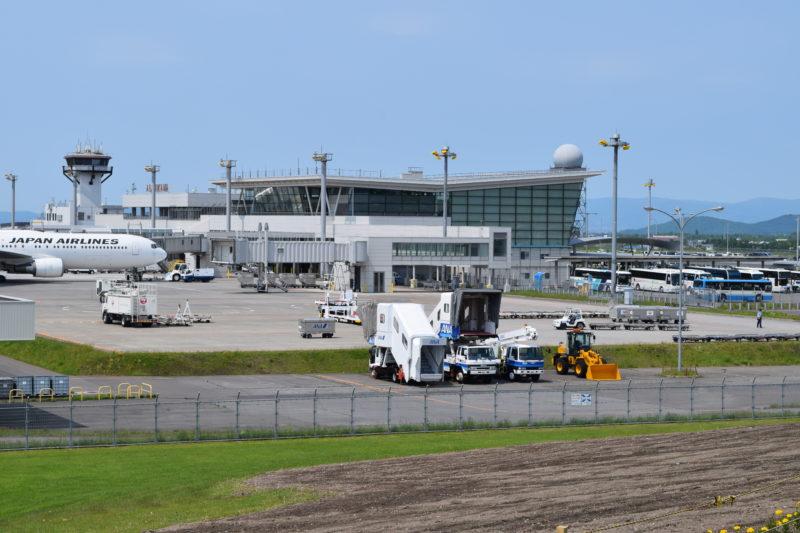 旭川空港公園グリーンポート展望シェルター