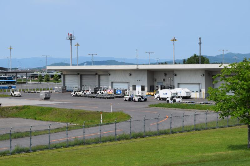 旭川空港貨物ターミナルビル