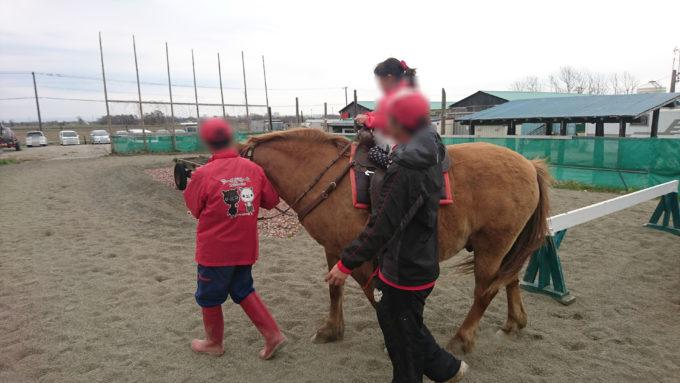 中サイズの引き馬