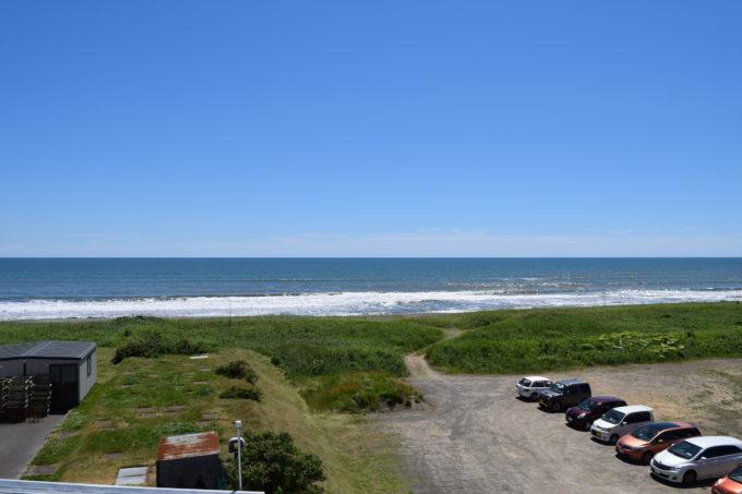 展望台から見る太平洋