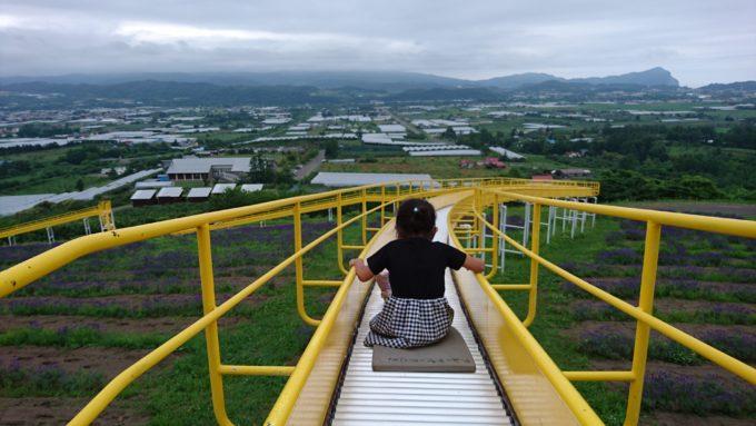 展望ジャンボ滑り台頂上の乗り場