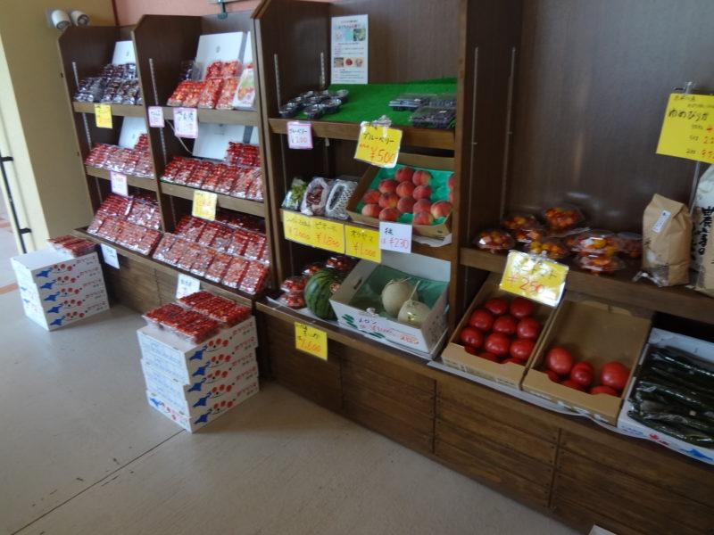 野菜や果物の販売