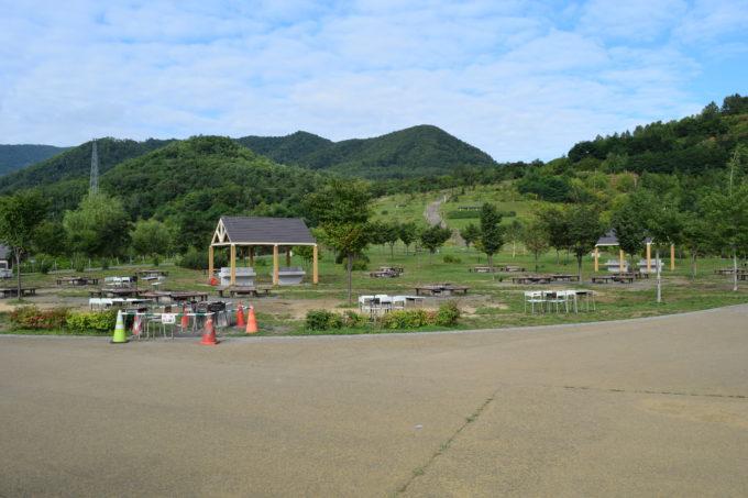 五天山公園炊事広場(バーベキュー広場)