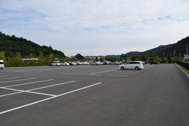 五天山公園の無料駐車場