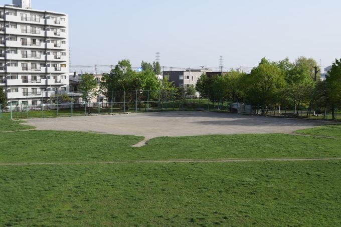 発寒西公園野球場
