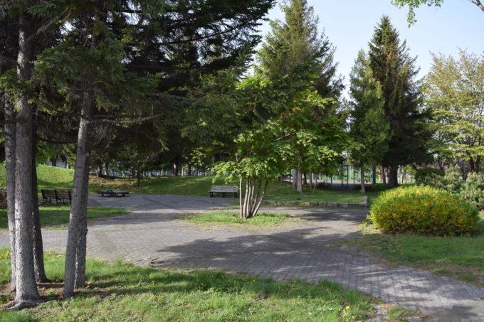 散策路や休憩広場
