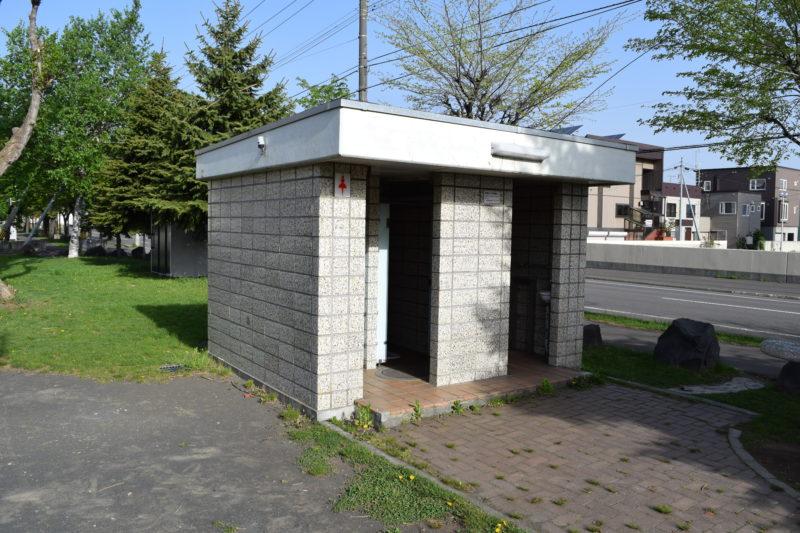 男女別トイレ(いずれも和式)
