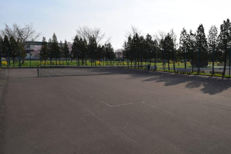 東苗穂北公園テニスコート