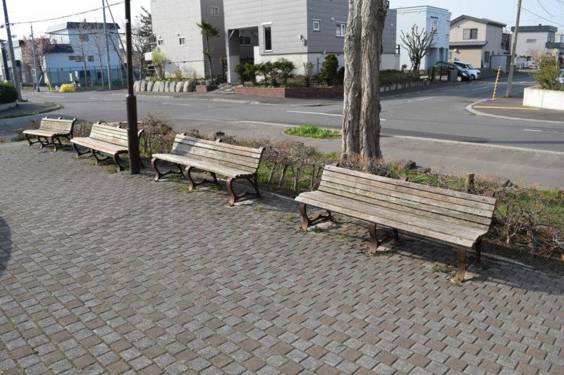水遊び場横ベンチ
