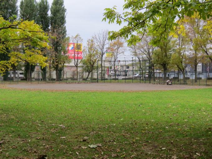 ひのまる公園野球場