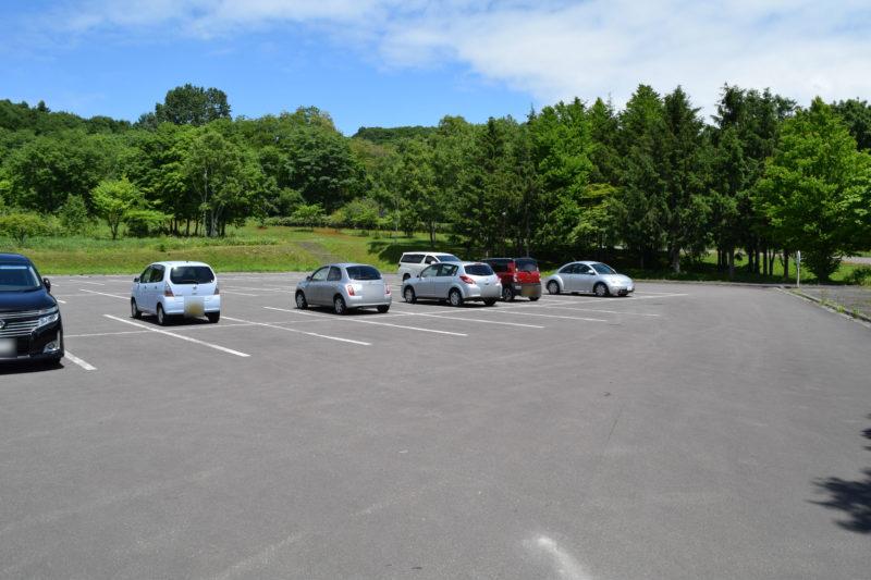 北海道こどもの国北口駐車場
