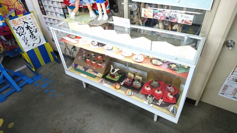 ホッキ貝人形展