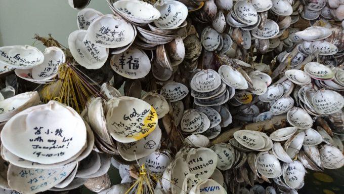 ほっき貝資料館名物のホッキッ木