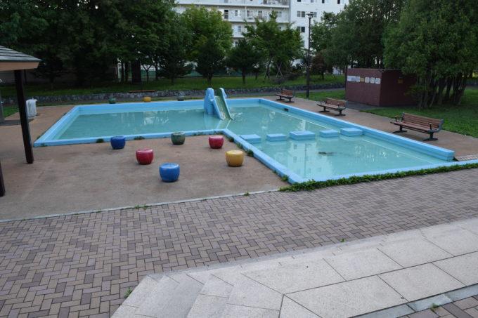 北光緑地水遊び場