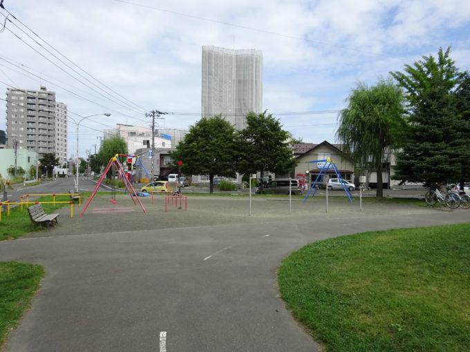 幌西自転車公園遊具スペース