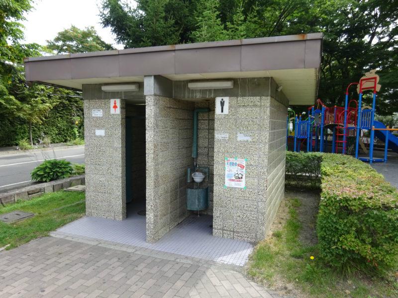 幌西自転車トイレ